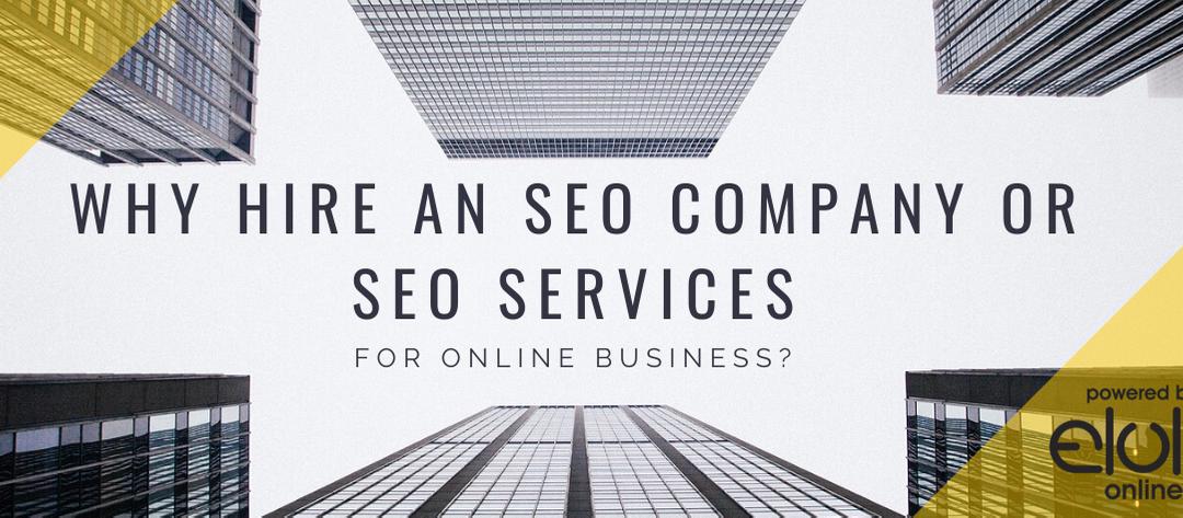 SEO Company Or SEO Services