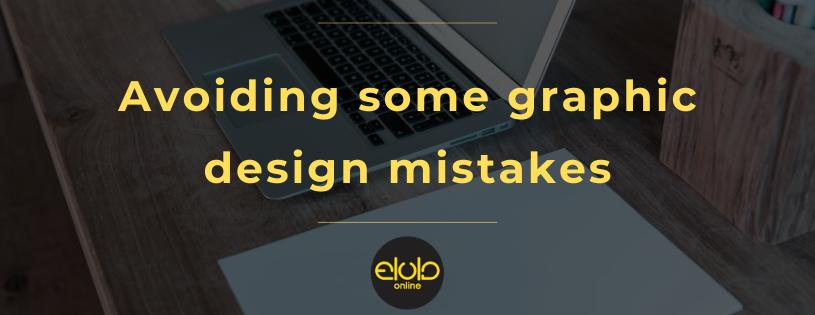 Avoiding some graphic design mistakes
